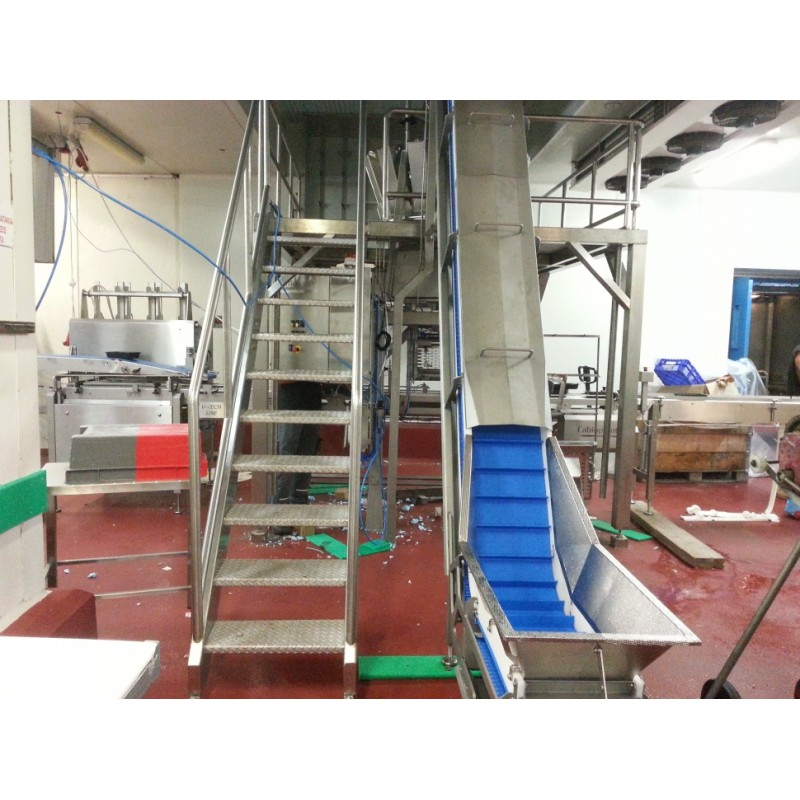 inox εξέδρα Ειδικές ανοξείδωτες κατασκευές